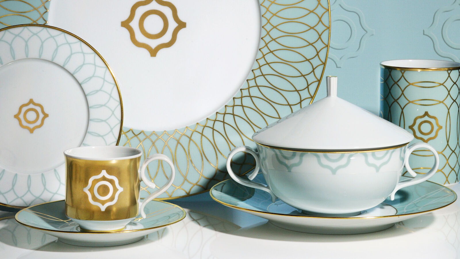 Design Management for the Carlo Dal Bianco dinner service from Fürstenberg