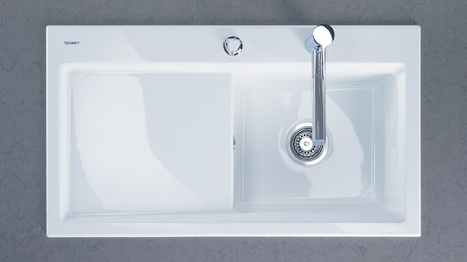 Kiora kitchen sink for Duravit