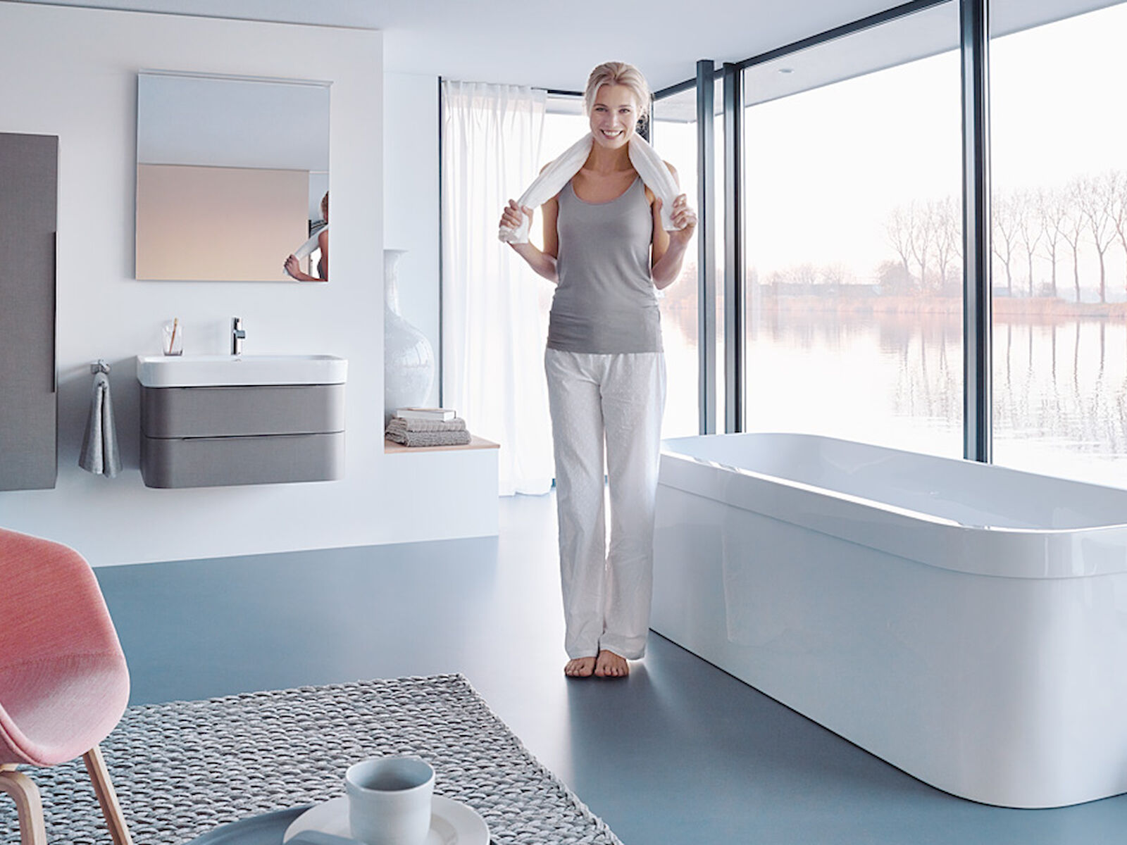 Happy D.2 – refinement of a bestseller for Duravit