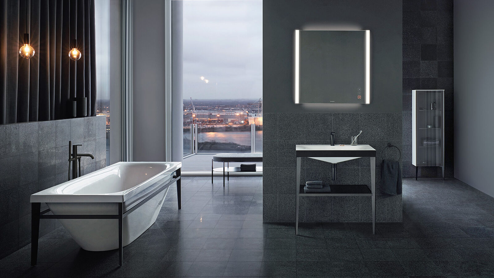Pioneering complete bathroom series Viu for Duravit